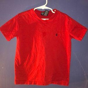 Ralph Lauren Red T-shirt size 6